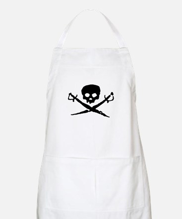 Jolly Roger Pirate BBQ Apron