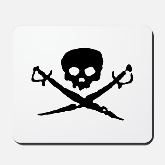 Jolly Roger Pirate Mousepad