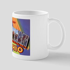 Cincinnati Ohio Greetings Mug
