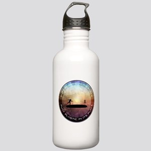Putt Plastic In Its Place Stainless Water Bottle 1