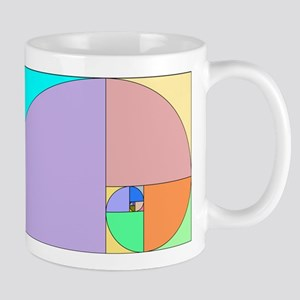Golden Ratio spiral Mug