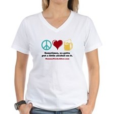 Peace, Love & Beer T-Shirt