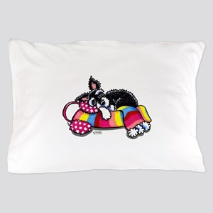 Warm Schnauzer Pillow Case
