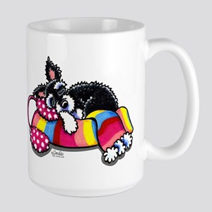 Warm Schnauzer Large Mug