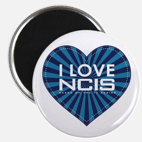 "I Love NCIS 2.25"" Magnet (10 pack)"