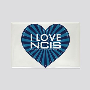 I Love NCIS Rectangle Magnet