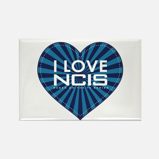 I Love NCIS Rectangle Magnet