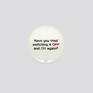 Switch On/Off. Mini Button