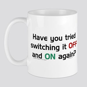Switch On/Off. Mug