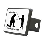 Young Rectangular Hitch Cover