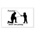 Young Sticker (Rectangle 50 pk)