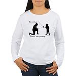 Young Women's Long Sleeve T-Shirt