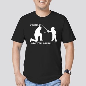 Young Men's Fitted T-Shirt (dark)