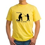 Young Yellow T-Shirt