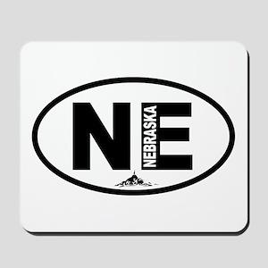 Nebraska Chimney Rock Mousepad