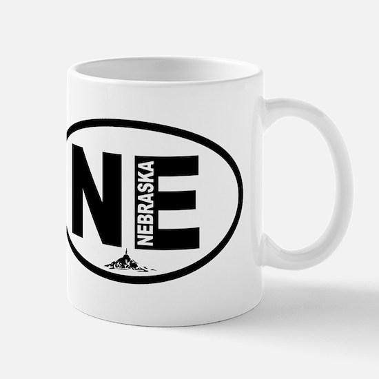 Nebraska Chimney Rock Mug