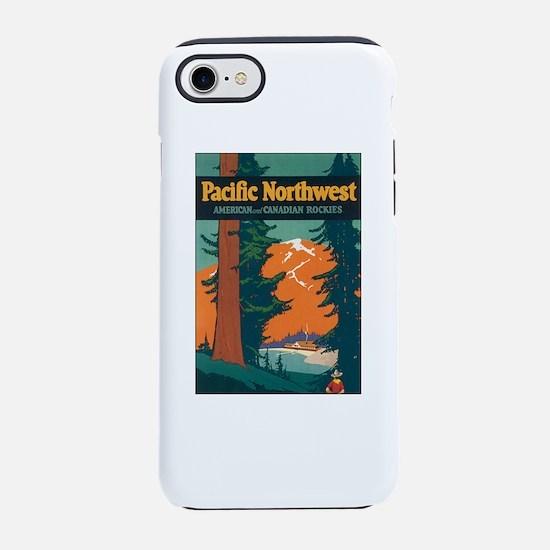 Pacific Northwest Rocky Mounta iPhone 7 Tough Case