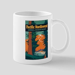 Pacific Northwest Rocky Mountains Mugs