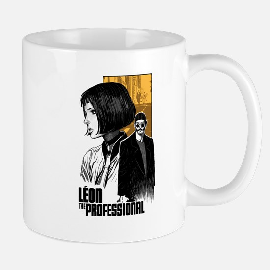 Leon The Professional Mugs