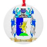 Artman Round Ornament
