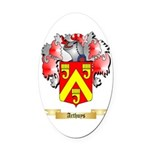 Arthuys Oval Car Magnet