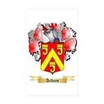 Arthuys Sticker (Rectangle 50 pk)