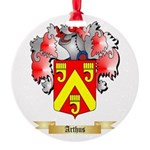 Arthus Round Ornament