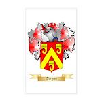 Arthus Sticker (Rectangle)