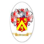 Arthus Sticker (Oval 10 pk)