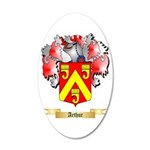 Arthur 20x12 Oval Wall Decal