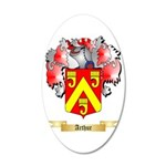 Arthur 35x21 Oval Wall Decal
