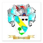 Arteaga Square Car Magnet 3