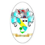 Arteaga Sticker (Oval 10 pk)