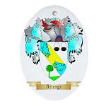Arteaga Ornament (Oval)