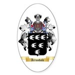 Arrundale Sticker (Oval 50 pk)
