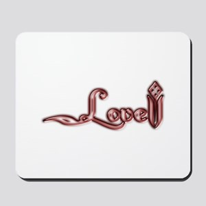 Love is Blooming Mousepad