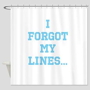 Forgot Shower Curtain