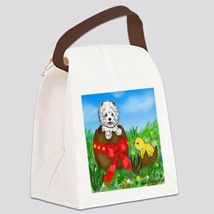 Easter Westie Canvas Lunch Bag