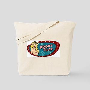 BOOBY TRAP BAR PIN-UP Tote Bag