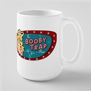 BOOBY TRAP BAR PIN-UP Large Mug