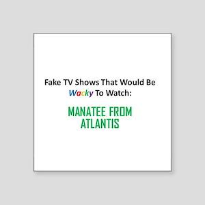 Fake TV Shows Series: MANATEE FROM ATLANTIS Square