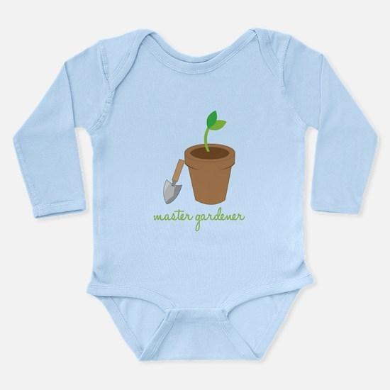 Master Gardener Long Sleeve Infant Bodysuit
