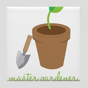 Master Gardener Tile Coaster