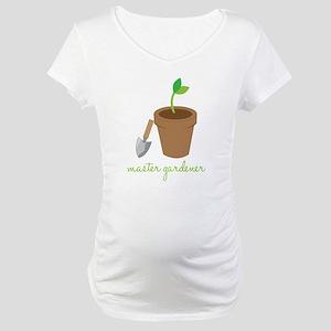 Master Gardener Maternity T-Shirt