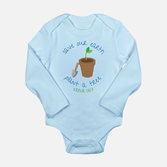 Save Our Earth Long Sleeve Infant Bodysuit