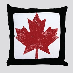 Industrial Maple Throw Pillow