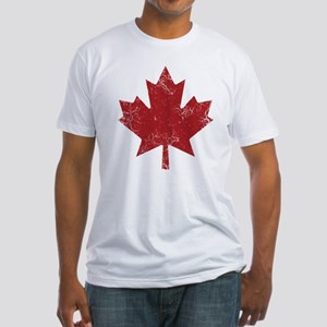 Industrial Maple Fitted T-Shirt