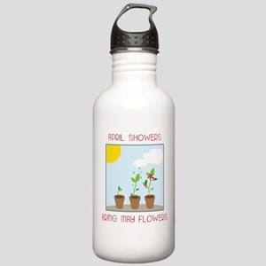 May Flowers Stainless Water Bottle 1.0L
