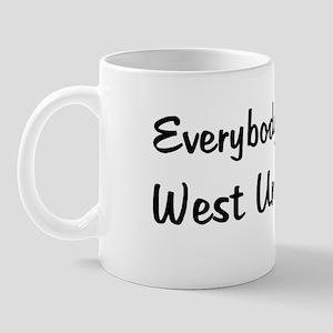 West Union Girl Mug