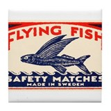 Flying fish safety matches Coasters